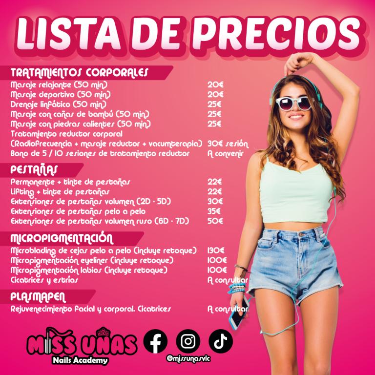 lista de precios 01